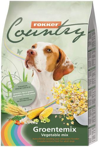 .Fokker Country groentemix hond.