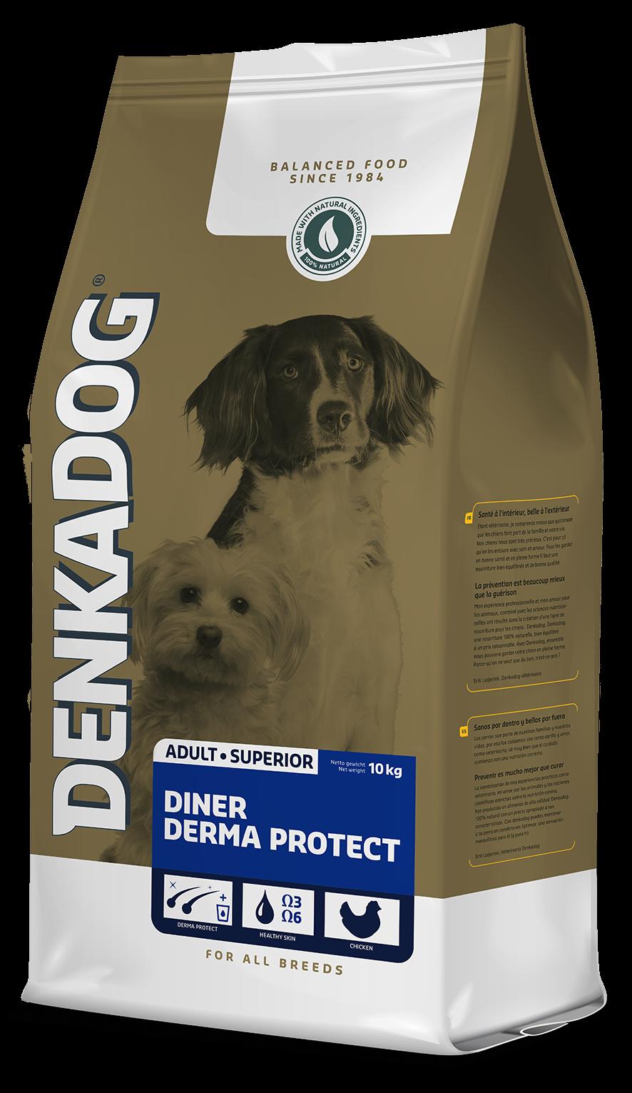 .Denkadog diner derma protect.