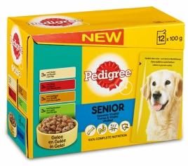 Pedigree pouch 12-pack senior