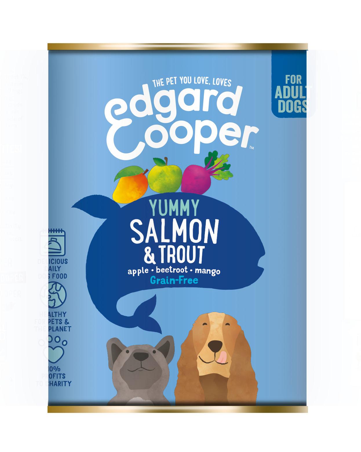 Edgard & Cooper hond blik vis