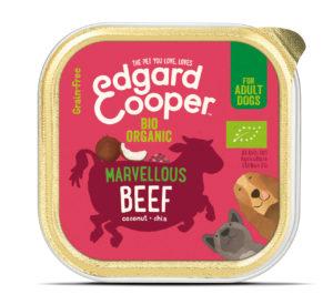 Edgard & Cooper hond kuipje rund organische box