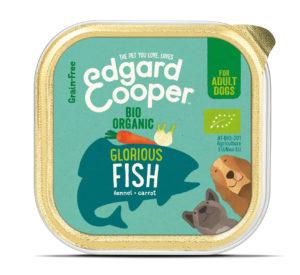Edgard & Cooper hond kuipje vis organische box