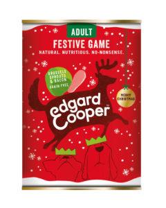 Edgard & Cooper kerst hond blik wld/sprtjs/spek