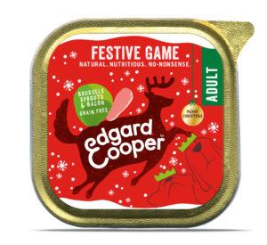 Edgard & Cooper kerst hond kuipje wld/sprtjs/spek