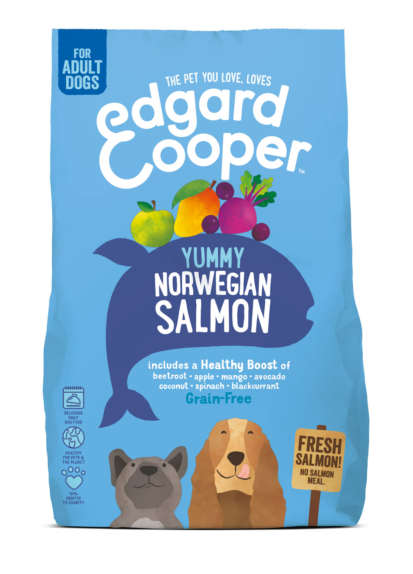 Edgard & Cooper hond brok vis