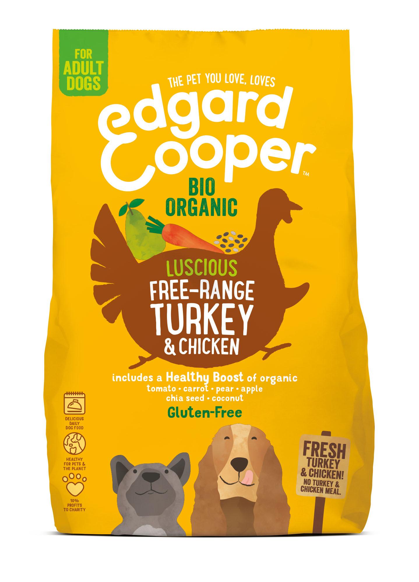 Edgard & Cooper hond brok bio kalkoen