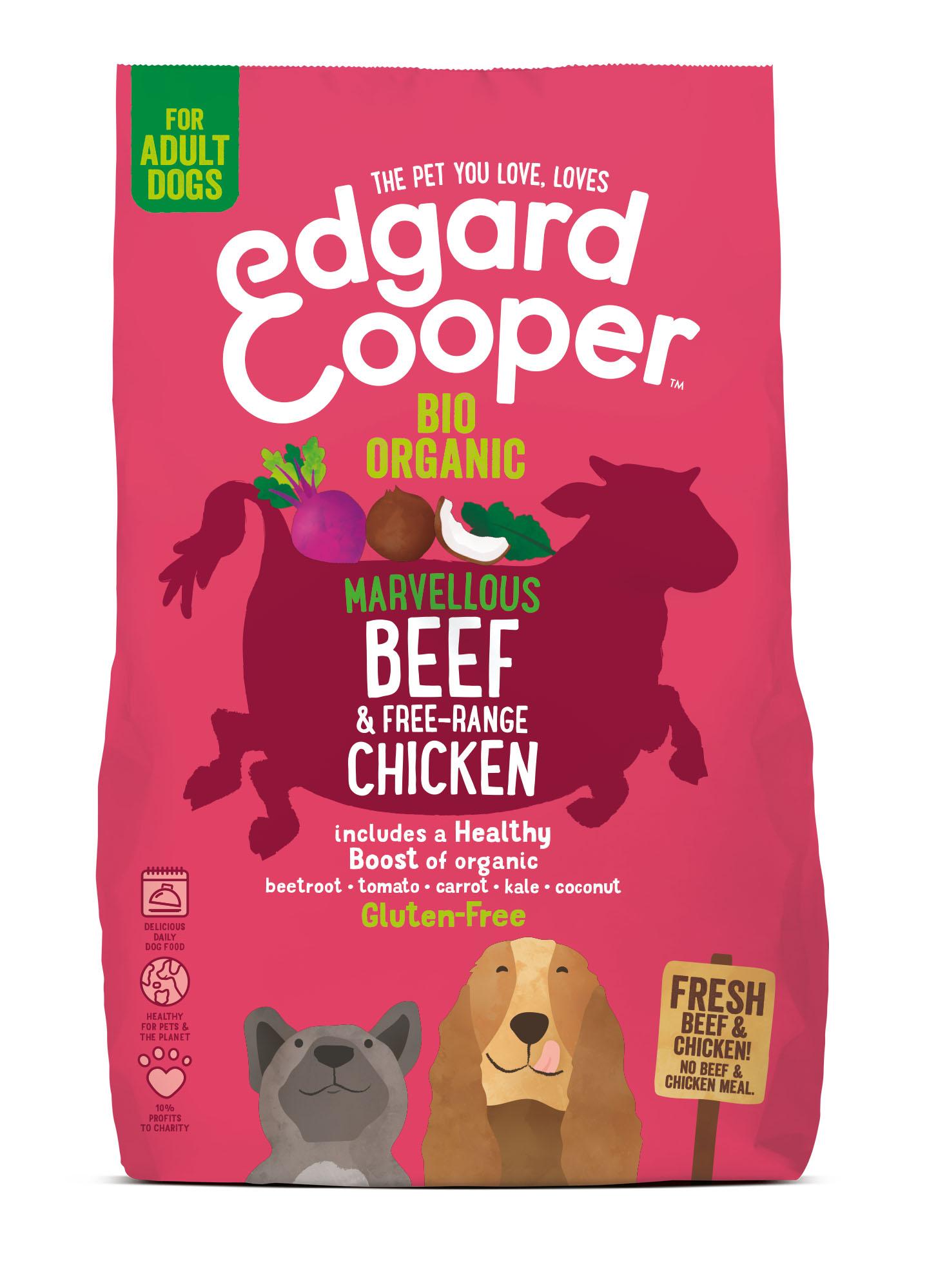 Edgard & Cooper hond brok bio rund
