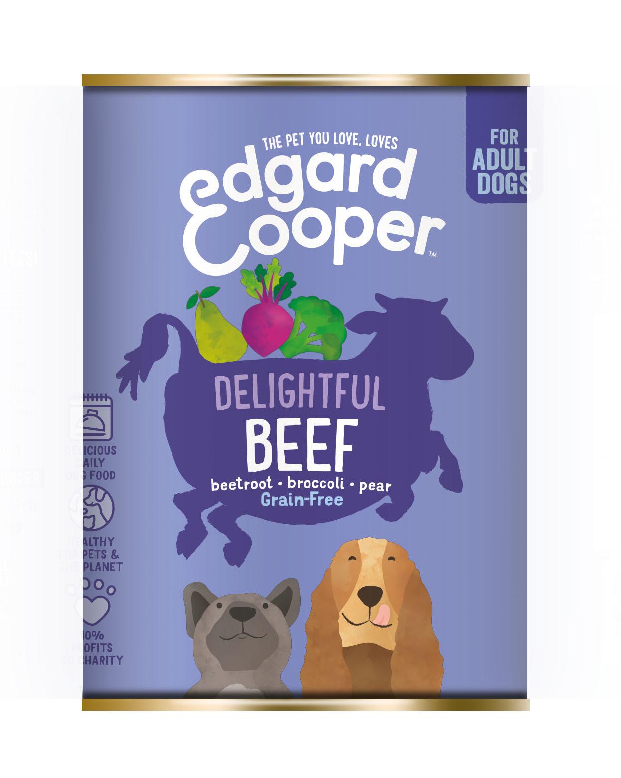 .Edgard & Cooper hond blik rund.