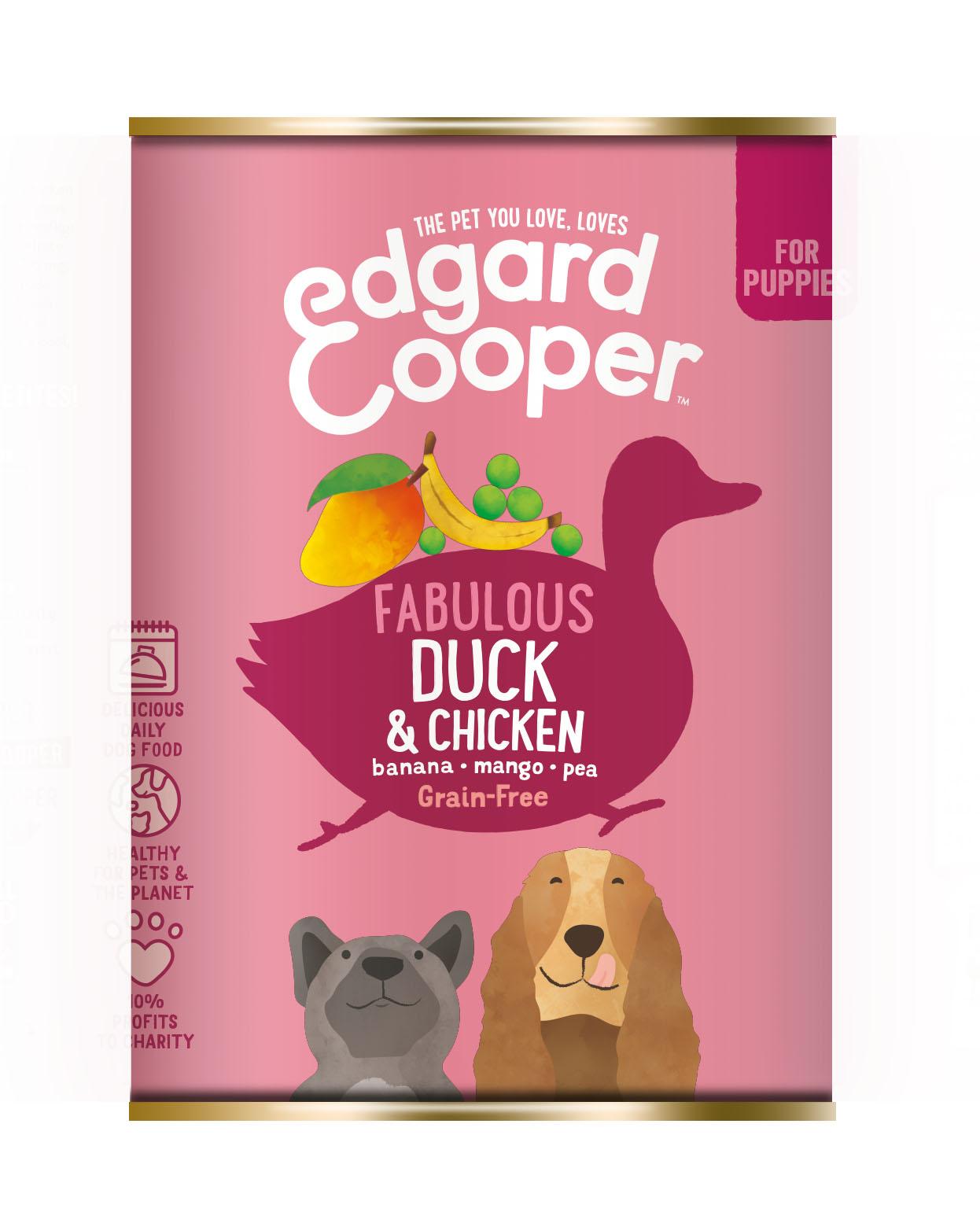 Edgard & Cooper hond blik pup eend