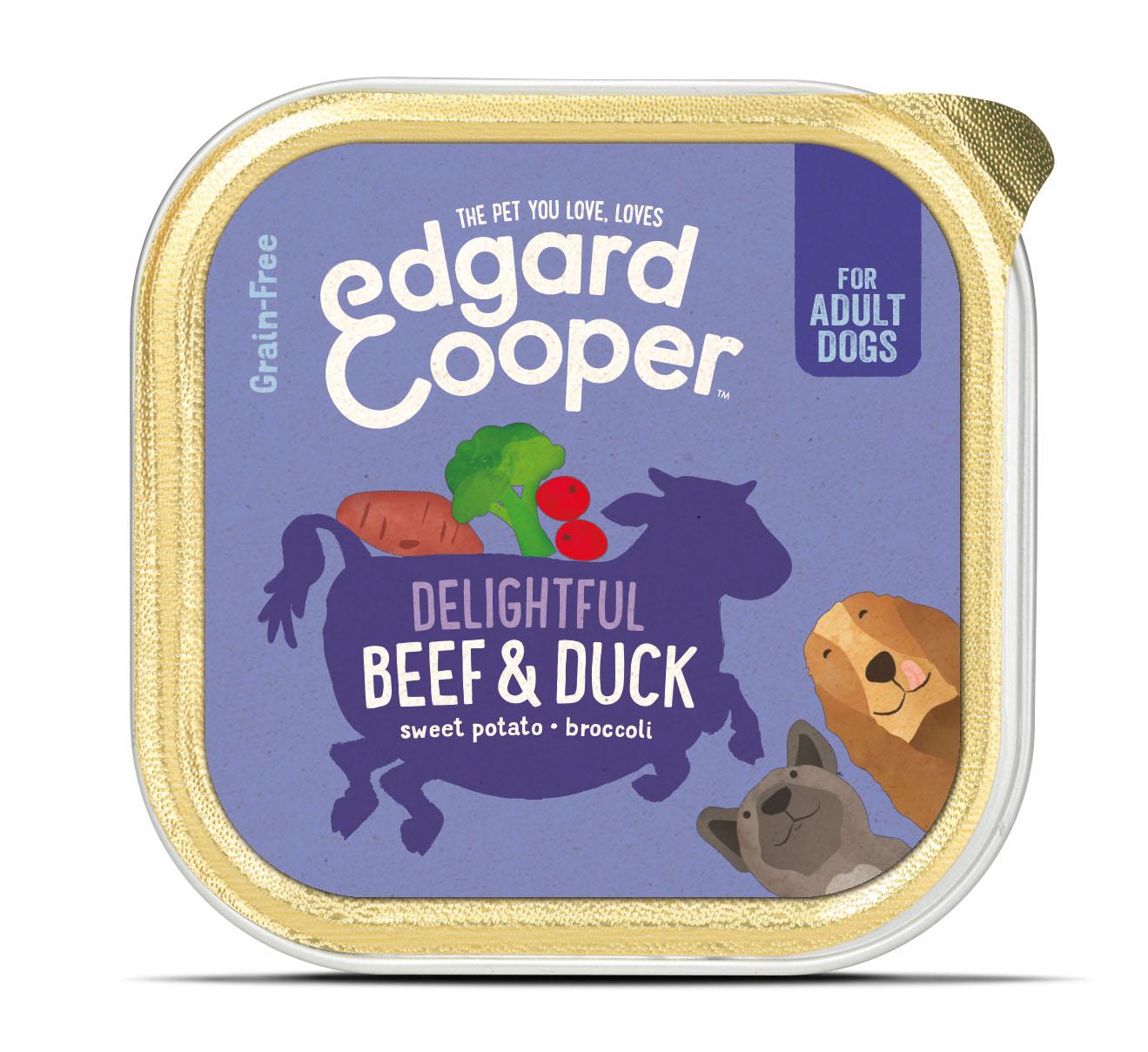 Edgard & Cooper hond kuipje rund box