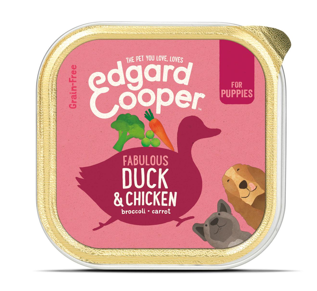 .Edgard & Cooper hond kuipje pup eend box.