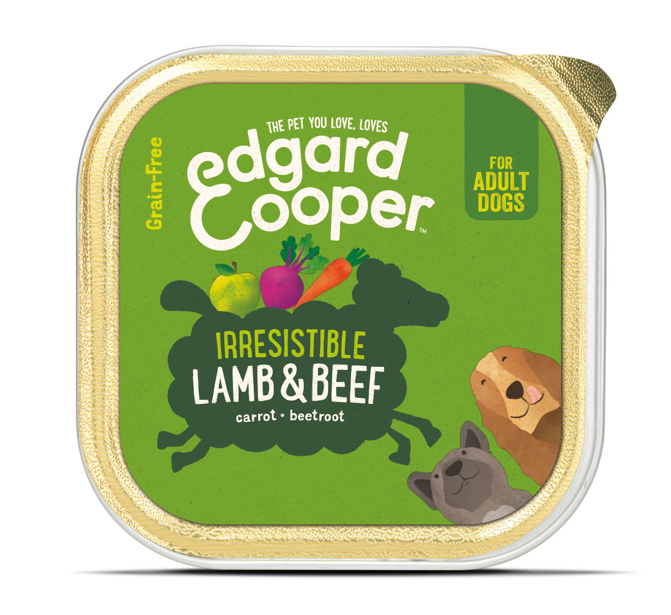 .Edgard & Cooper hond kuipje lam box.