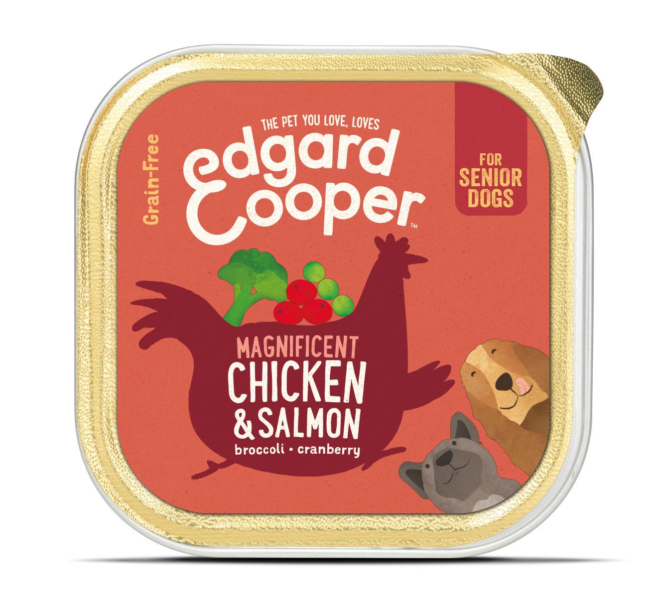 .Edgard & Cooper hond kuipje sen kip/zalm box.