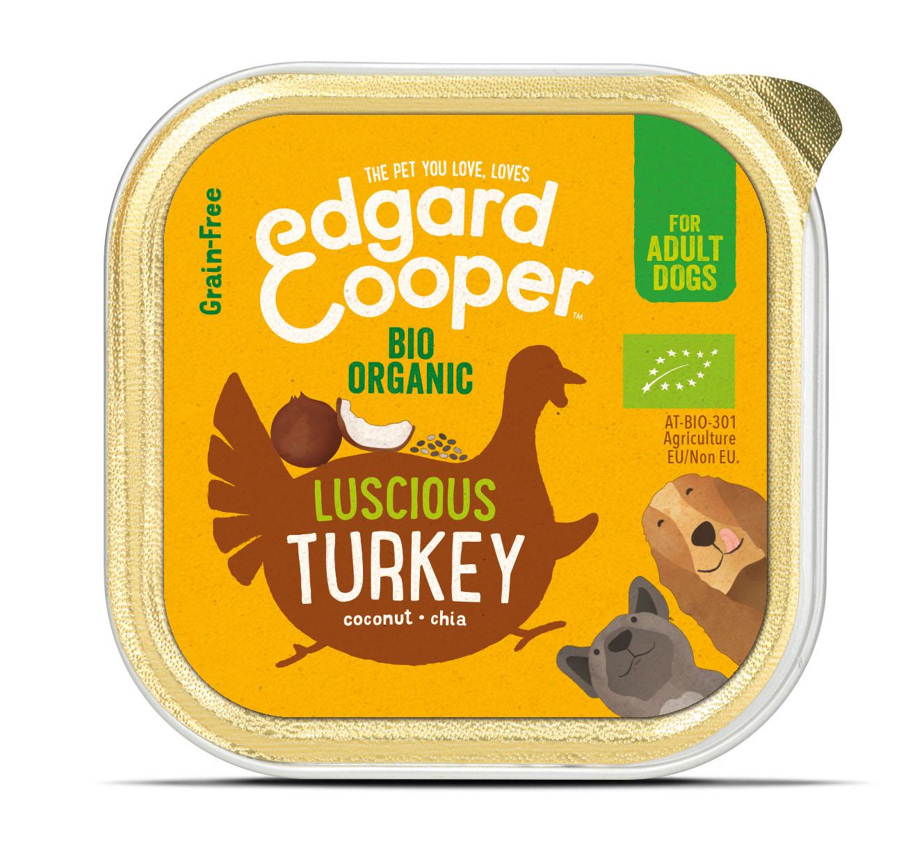 Edgard & Cooper hond kuipje kalkoen organische box