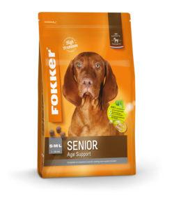Fokker hond senior
