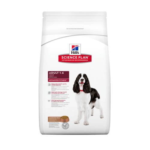 Hill's canine adult medium lamb&rice