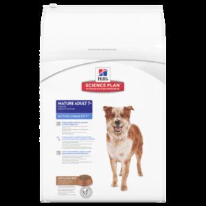 Hill's canine mature adult active long medium lam & rice
