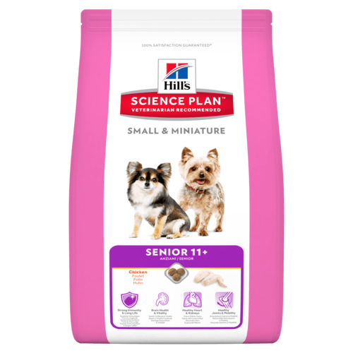 Hill's canine mature adult small&mini 11+