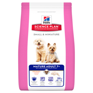 Hill's canine mature adult small&mini chicken