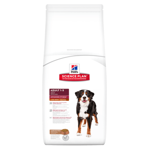 Hill's canine adult large lamb&rice