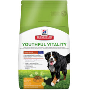 Hill's canine adult youthful vitality 7+ large