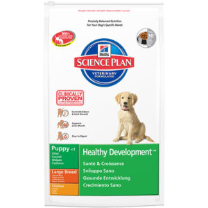 Hill's canine puppy health development large chick