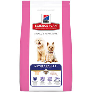Hill's canine mature adult small&mini 7+