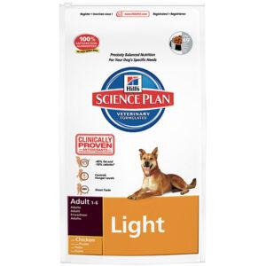 Hill's canine adult light medium chicken