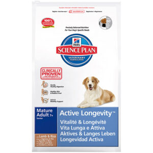 Hill's canine mature adult active long med lm&rc