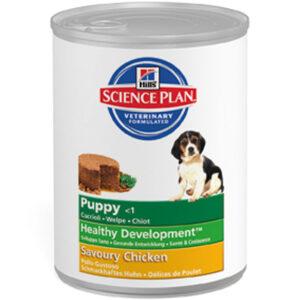 Hill's canine blik puppy chicken
