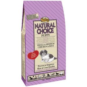Nutro puppy small/medium chicken&rice