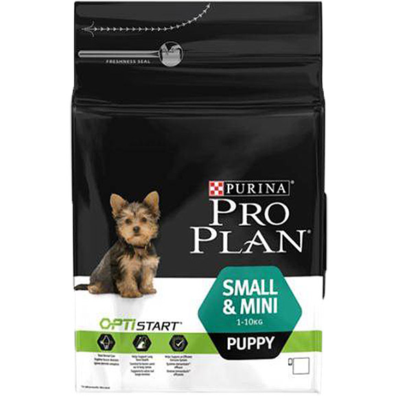 .Pro Plan small/mini puppy.