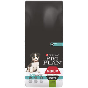 Pro Plan medium puppy sensitive digestion lam
