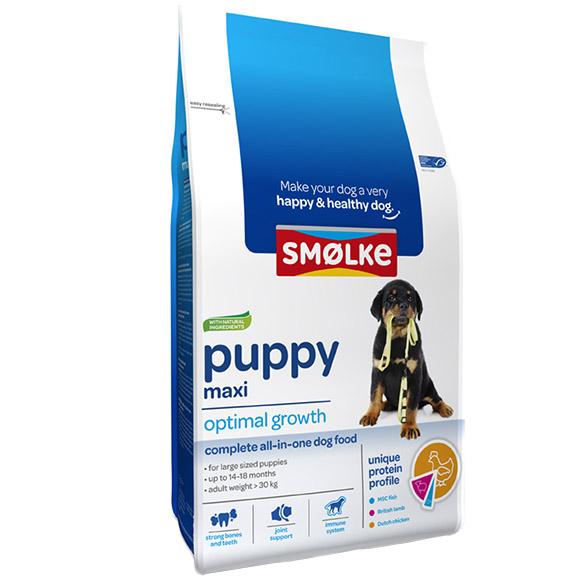 Smolke hond puppy maxi