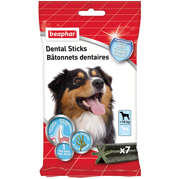 .Beaphar dental sticks gr hond.