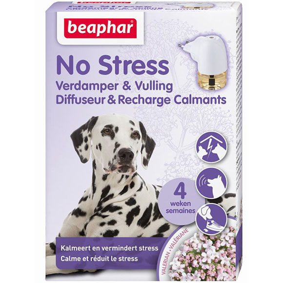 .Beaphar No Stress verdamper+navul hond.