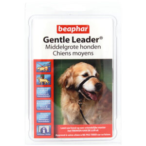 Beaphar Gentle leader medium zwart