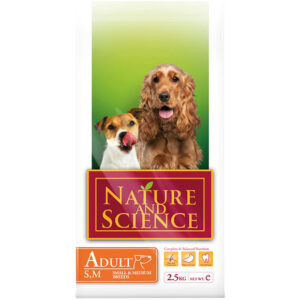 Nature&Science dog adult small/medium breed