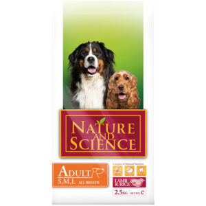 Nature&Science dog adult all breed lamb&rice