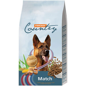 Fokker Country match hond