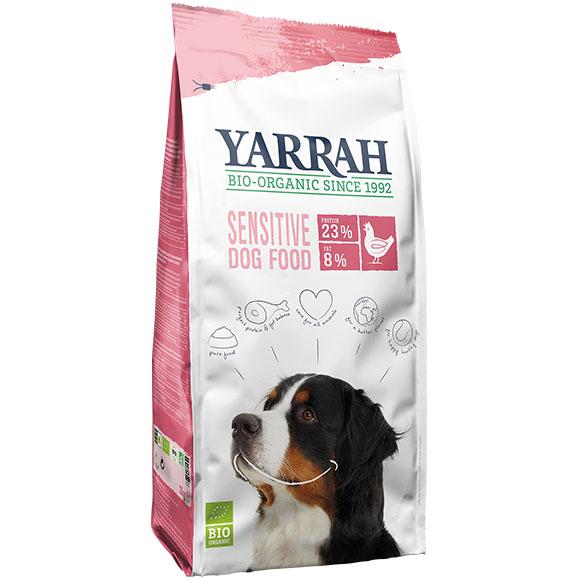 .Yarrah dog droog bio sensitive kip&rijst.