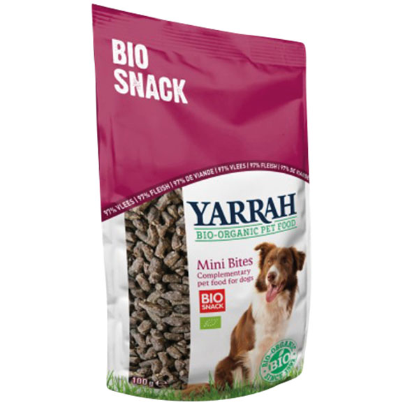 .Yarrah dog snack bio mini bites.
