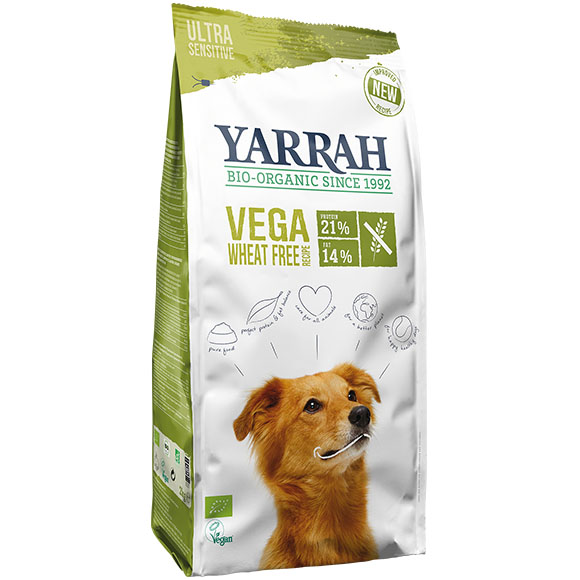 .Yarrah dog droog bio vega sensitive.