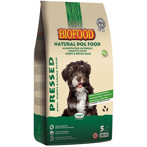 .Biofood geperst mini/puppy.