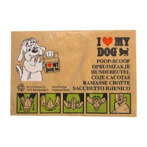 I love my dog poepzakjes