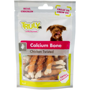 Truly dog calcium bone chicken twisted
