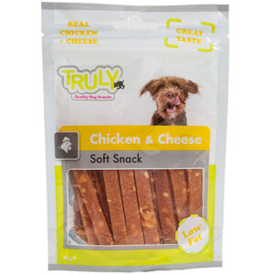 Truly dog chicken & cheese
