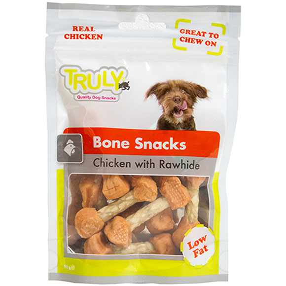 Truly dog bone snack